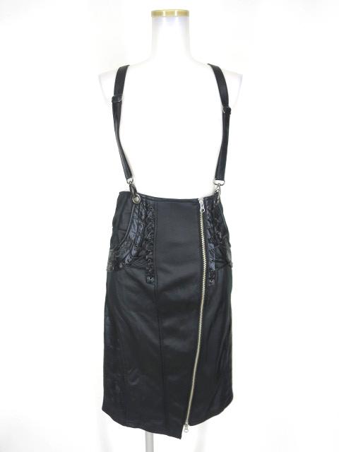Ozz Croce サスペンダー付きスカート