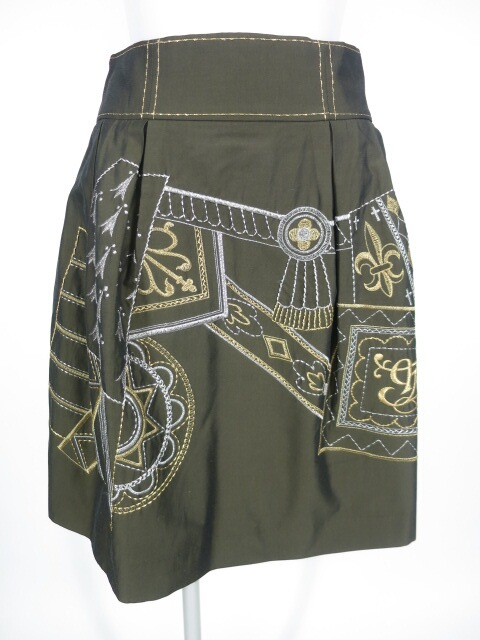 Jane Marple エンブロイダリー刺繍スカート