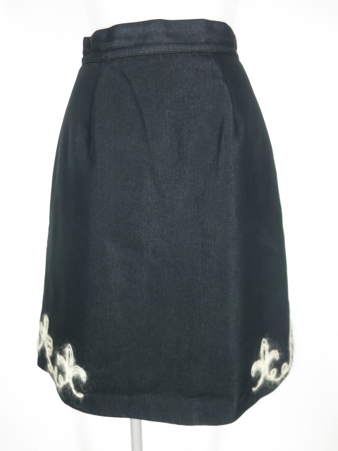 Jane Marple 毛糸刺繍スカート