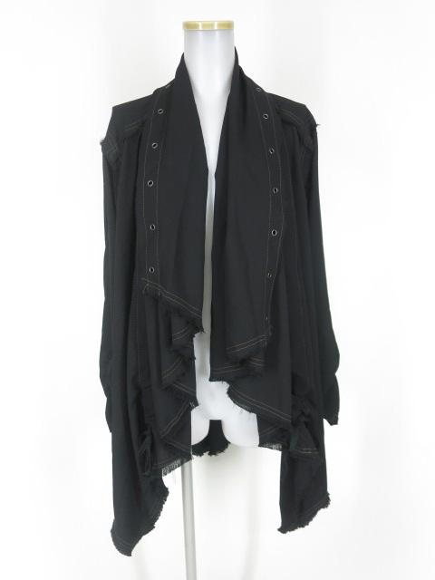 ALGONQUINS フレアカラーのグランジジャケット