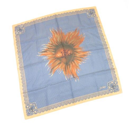 Jean Paul GAULTIER ハート太陽 スカーフ