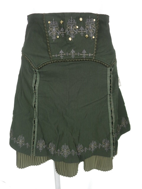 Rozen Kavalier フックボタンスリット入りスカート