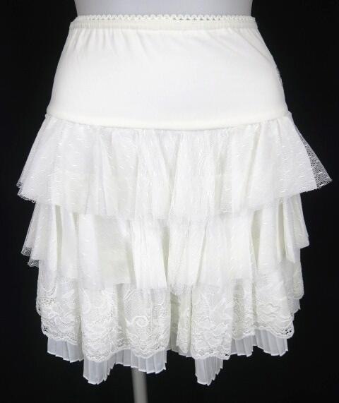OZZ ONESTE チュールフリル付きスカート