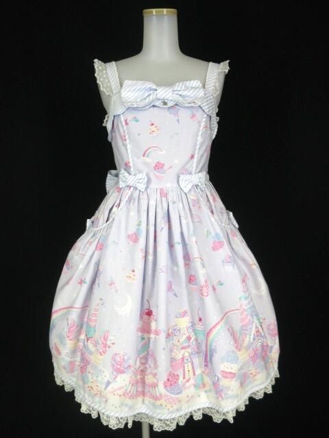 Angelic Pretty Milky★Planet ジャンパースカート
