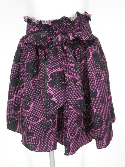 MILK デジタルカップケーキ柄スカート