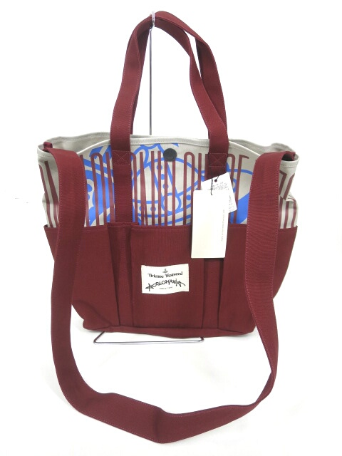 Vivienne Westwood ANGLOMANIA 2wayトートバッグ