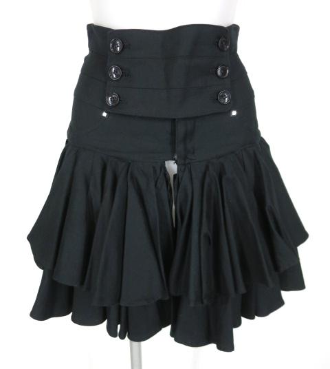 alice auaa 編み上げ付きフリルミニスカート