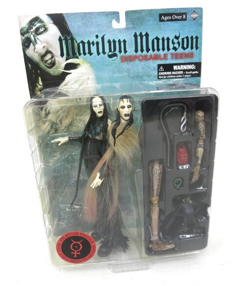 Marilyn Manson DISPOSABLE TEENS アクションフィギュア