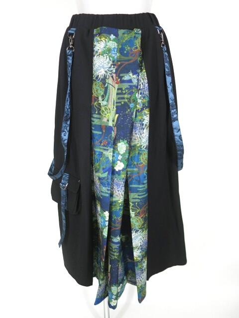 Qutie Frash オーバースカート付きショートパンツ