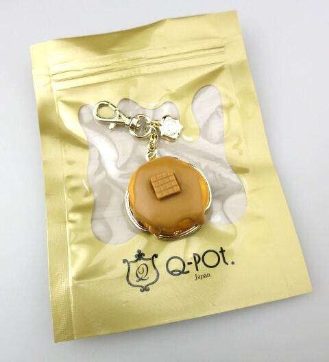 Q-pot. キャラメルパンケーキ バッグチャーム