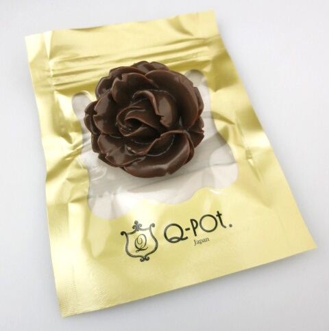 Q-pot. ローズショコラリング