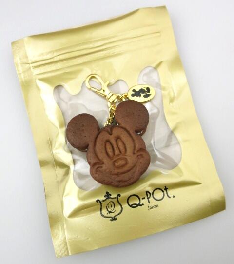 Q-pot.×Disney ミッキーマウス チョコミントクッキーサンドアイスバッグチャーム