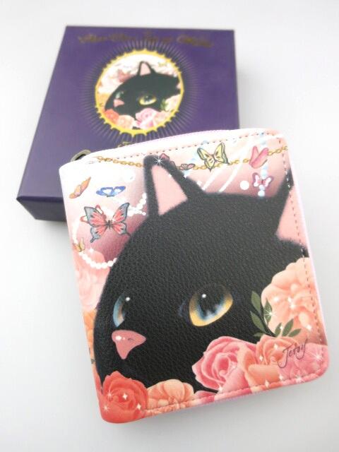 JETOY Choo-Choo 黒猫 カードケース財布