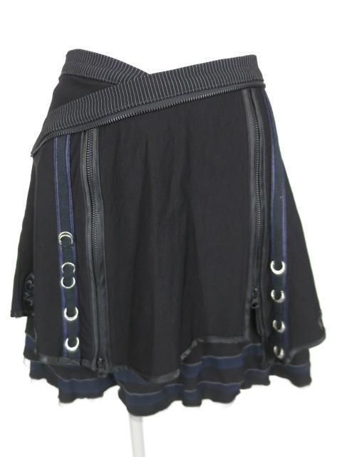 Ozz Croce ジップスリット付きスカート