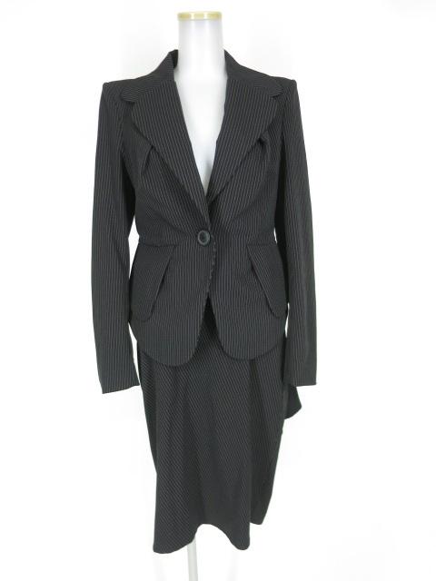 Vivienne Westwood ANGLOMANIA ピンストライプベッティーナジャケット+スカート セットアップ