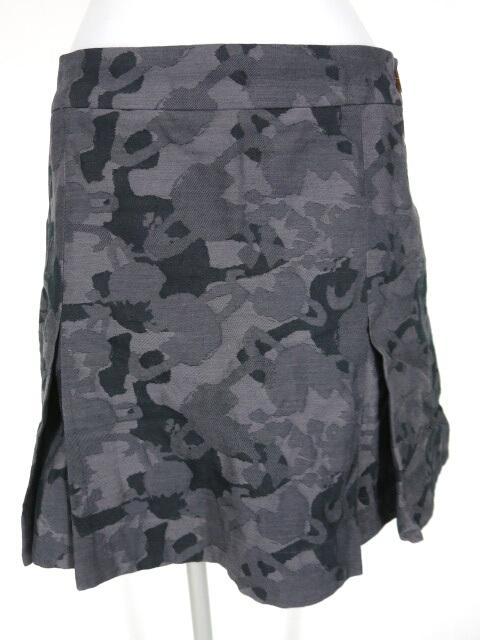 Vivienne Westwood RED LABEL オーブ迷彩 ジャガード織りスカート風ショートパンツ