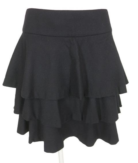 Jane Marple Dans Le Salon ウール3段フリルスカート