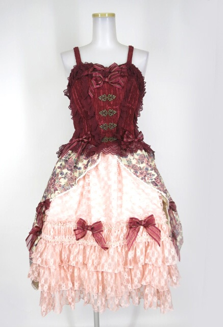BABY, THE STARS SHINE BRIGHT Julietのためのソネットゴブランジャンパースカート