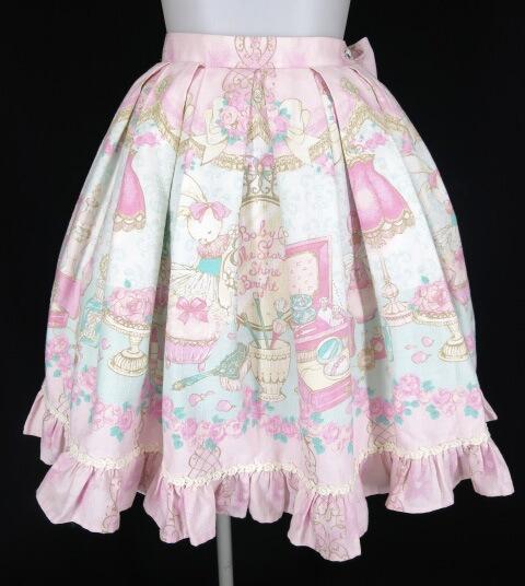 BABY, THE STARS SHINE BRIGHT 恋する香りの魔法柄スカート