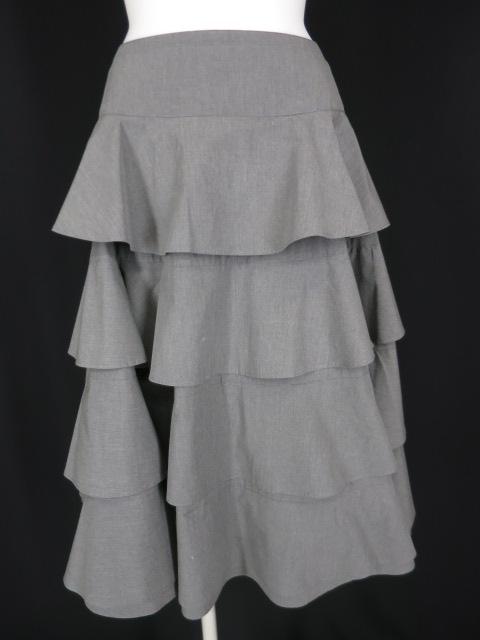 Jane Marple Dans le Salon ティアードフリルスカート