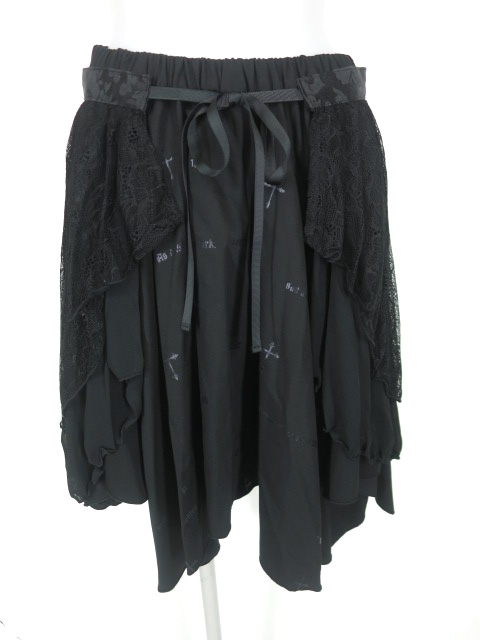 NAOTO SEVEN Gothic Lace スカート