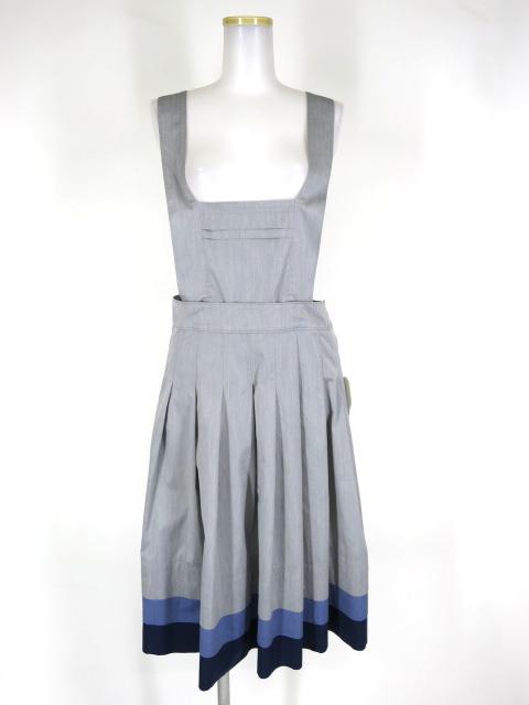 Jane Marple エプロンジャンパースカート