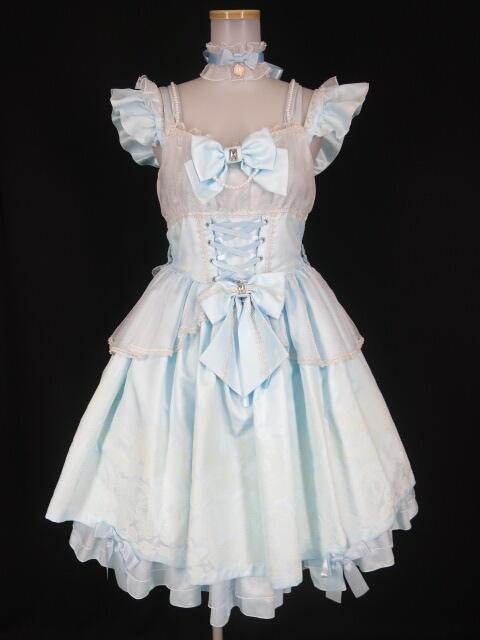 Metamorphose Cinderella~小さなガラスの靴~プリンセスジャンパースカート&カチューシャ&タイツ