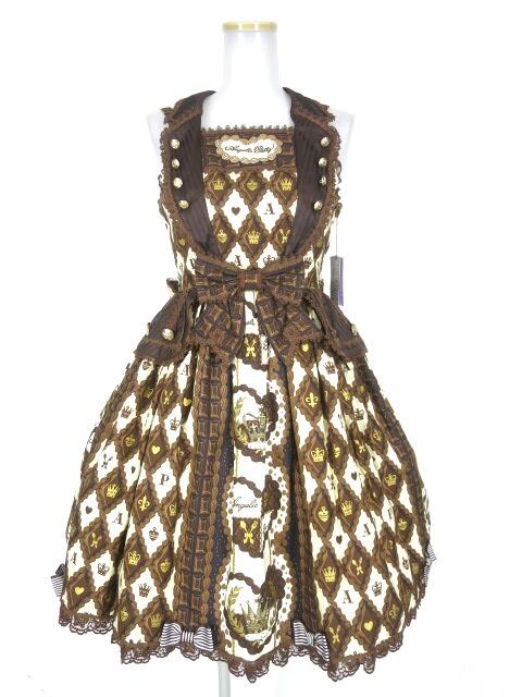 Angelic Pretty Queen Chocolateジャンパースカート
