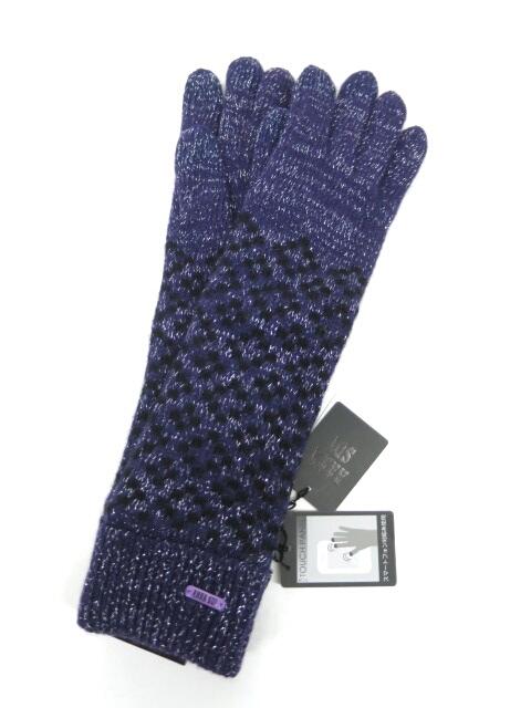 ANNA SUI ラメニットロング手袋