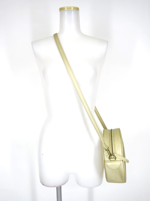 Jane Marple JMロゴのショルダーバッグ