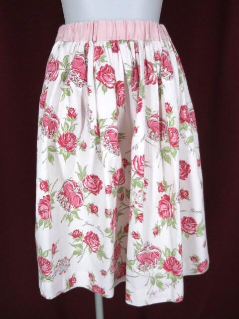 Jane Marple ローズクラウンスカート