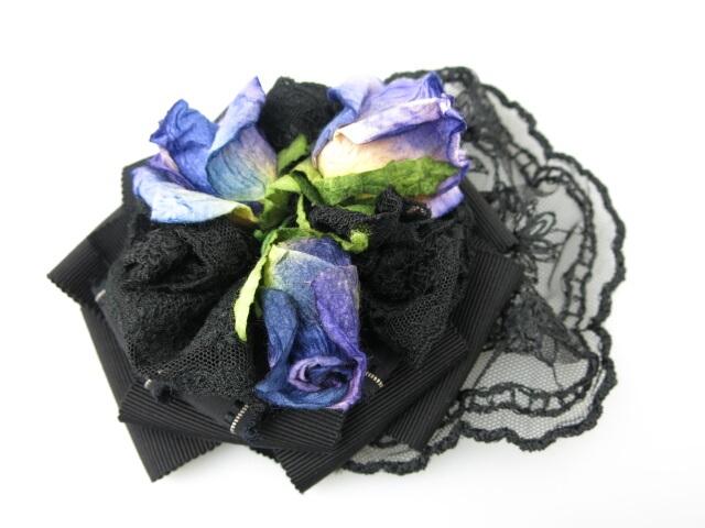 Fairy Wish 青薔薇のヘッドドレス