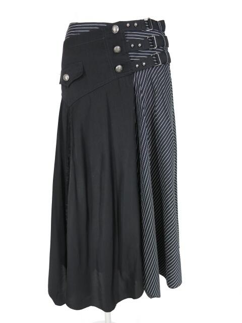 ALGONQUINS フレアーフラップ付きアレンジスカート