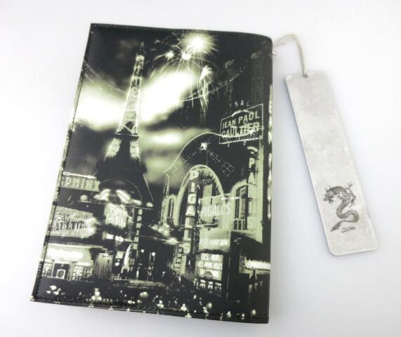 Jean Paul GAULTIER パリ夜景柄手帳カバー