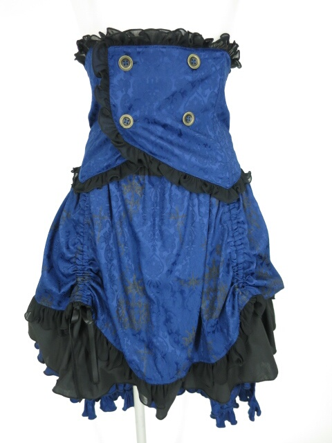 h.NAOTO STEAM コルセット付きスカート