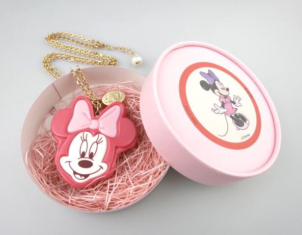 Q-pot. ミニーマウス ストロベリーケーキ ネックレス