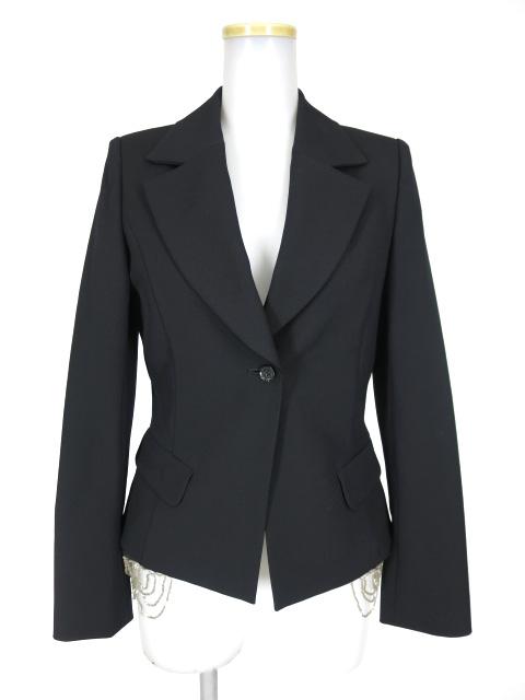 alice auaa 裾ビーズ付きジャケット