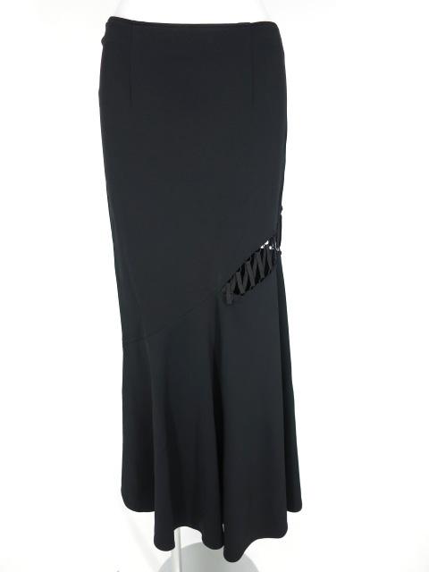 alice auaa 亀裂編み上げ付きロングスカート