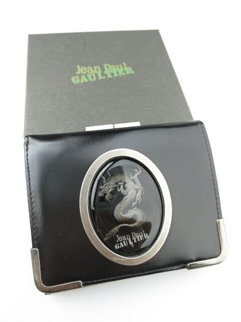 Jean Paul GAULTIER ドラゴンカメオ がま口3つ折り財布