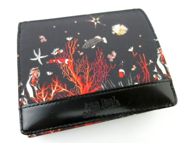 Jean Paul GAULTIER 熱帯魚柄折り財布