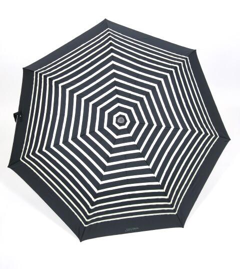 Jean Paul GAULTIER マリンボーダー柄折りたたみ傘