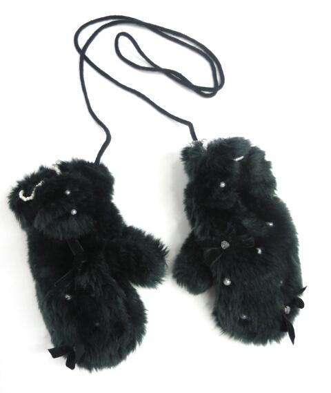 Angelic Pretty ファーミトン手袋