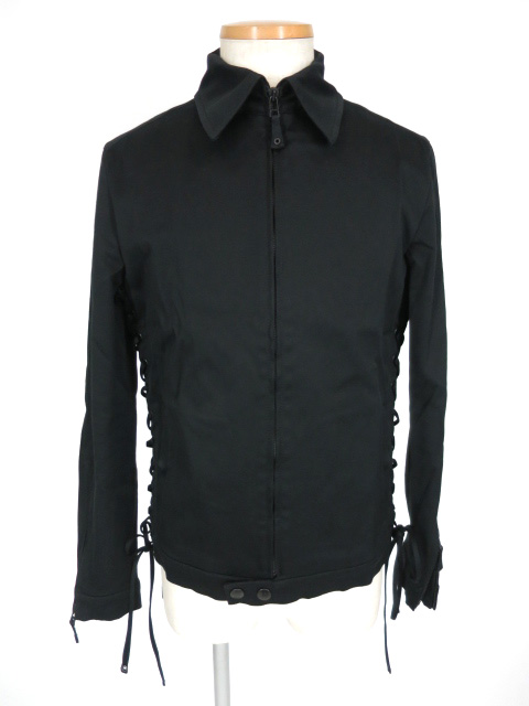 Jean Paul GAULTIER HOMME サイド編み上げ付きジップアップジャケット
