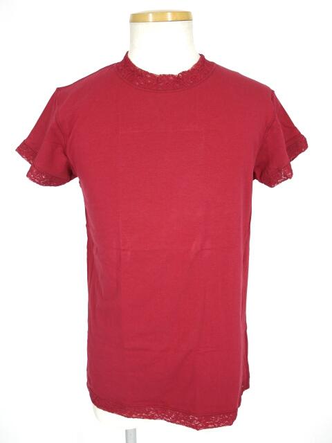 Jean Paul GAULTIER HOMME レースパイピングTシャツ