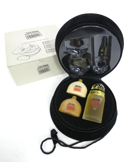 Jean Paul GAULTIER FRAGILE 香水50ml ボディーローション40ml シャワークリーム40ml セット