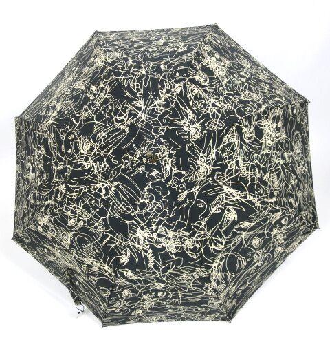 Jean Paul GAULTIER グラフィティ柄 傘