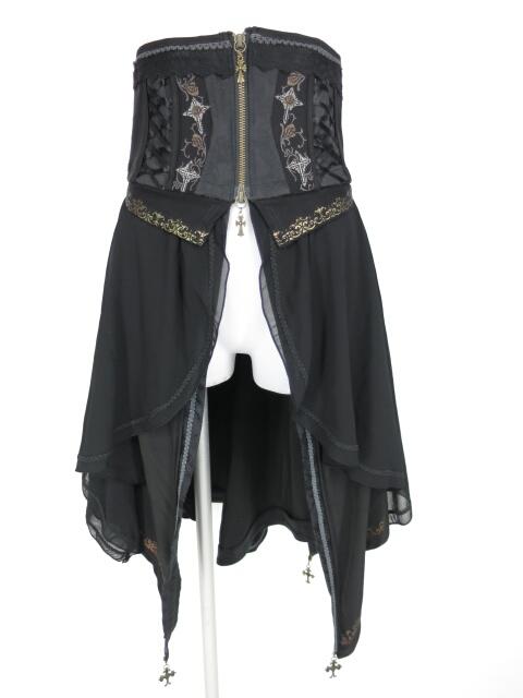 OZZ ONESTE 2wayコルセットオーバースカート