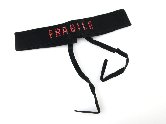 Jean Paul GAULTIER FRAGILE 別珍チョーカー