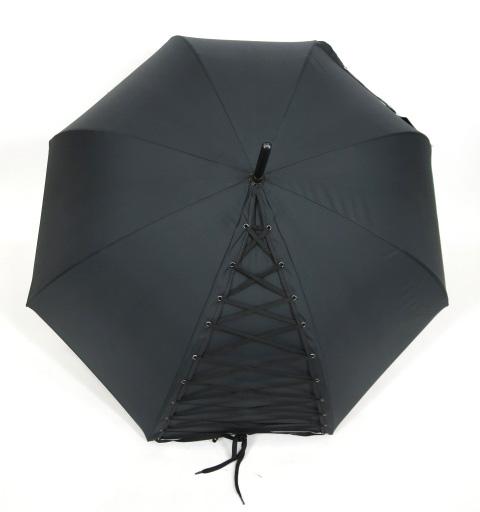 Jean Paul GAULTIER 編み上げデザイン トルソー型グリップ 傘