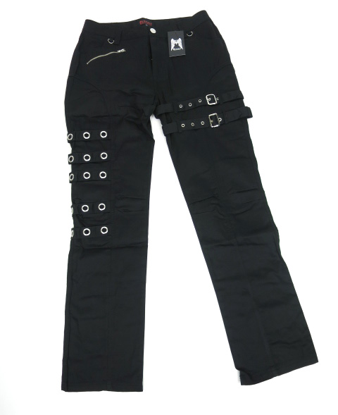 Deorart ハトメ5連ベルト 拘束デザインパンツ